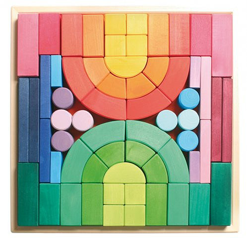 Grimm's Romanesque Multicolored Blocks