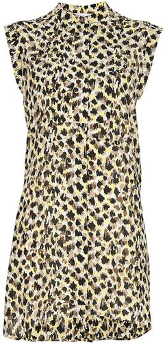 See By Chloé stylised leopard print dress