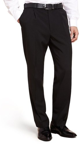 Crease Resistant Active Waistband Straight Fit Trousers