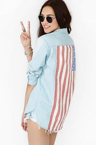 American Summer Denim Shirt