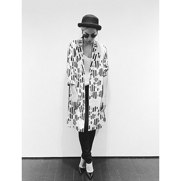 Beyoncé set the tone with this picture of her trendy outfit.  Source: Instagram user beyonce