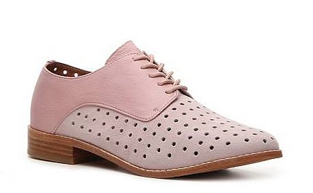 We love the combination of pink and tan wood on these Matiko Felix oxfords ($120) and can imagine them bringing any pair of jeans to life.