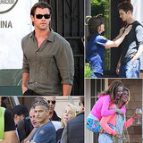 Chris Hemsworth, Emma Stone, Kate Upton, and More Stars on Set