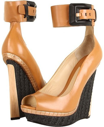 B Brian Atwood - Alouette (Natural Leather) - Footwear