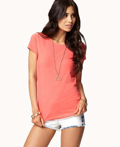 FOREVER 21 Advanced Cooling Crew Neck