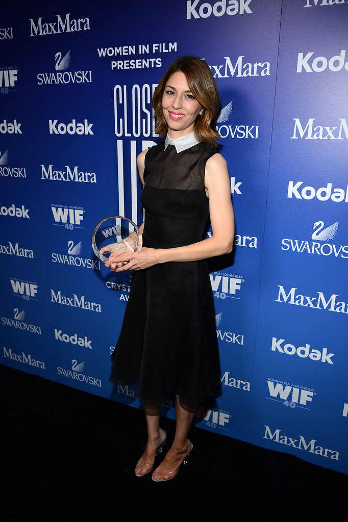 Sofia Coppola scooped up an award.
