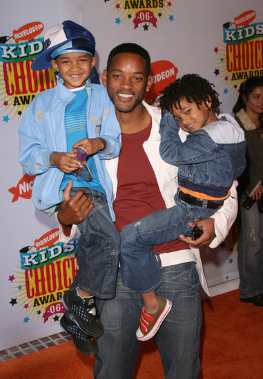 Will Smith and Jaden and Willow Smith