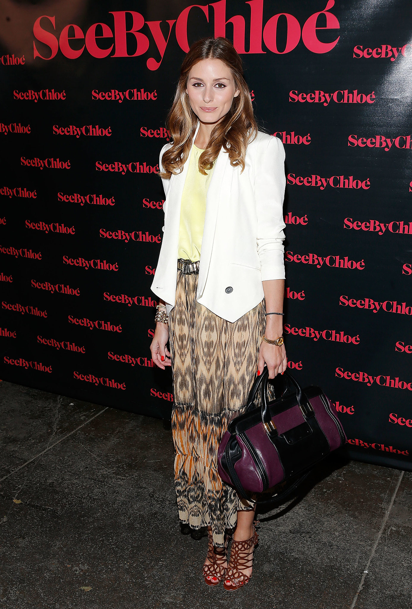 Olivia Palermo at the See by Chloé Resort 2014 collection party in New York.