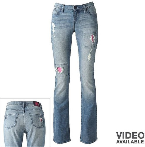 Rock & republic kasandra distressed bootcut jeans