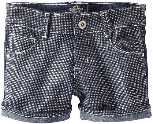 Almost Famous Girls 7-16 Metallic Print Short
