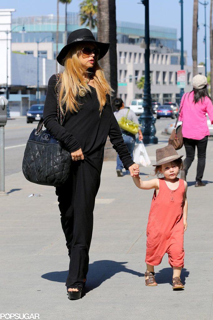 Rachel Zoe held onto Skyler Berman's hand.