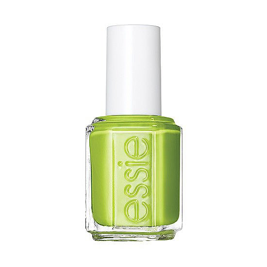 Every month, we round up the newest and brightest nail polishes on the market. For June, this punchy green lacquer from Essie called The More the Merrier was your top pin.