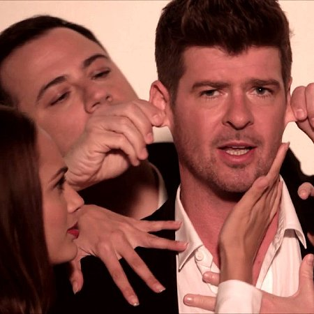 "Jimmy Kimmel ""Blurred Lines"" Video"