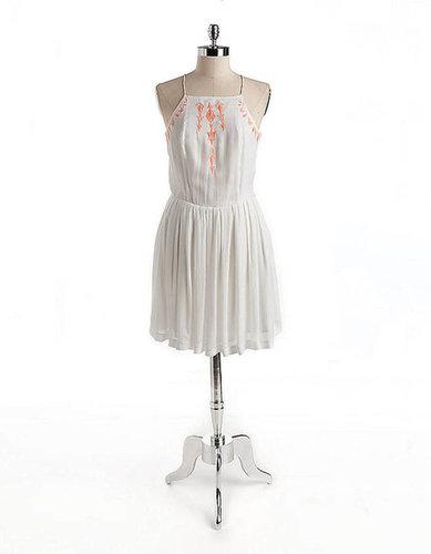 DOLCE VITA Ricka Sleeveless Embroidered Dress