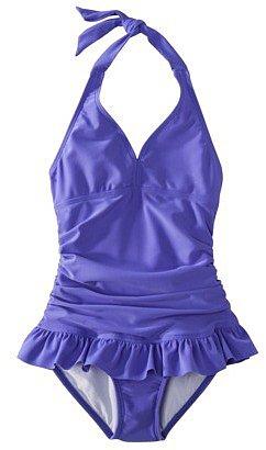 Xhilaration® Girls' 1-Piece Swimsuit Set