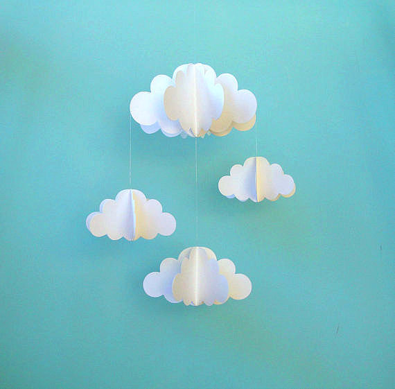 Add a dreamy touch with this cloud mobile ($23).