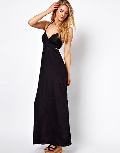 Vila Cut Away Maxi Dress