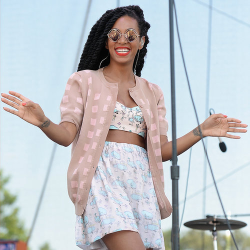 Solange Knowles at Bonnaroo Music Festival 2013