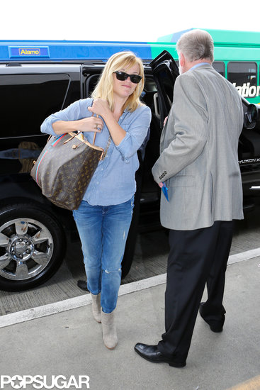 Reese Witherspoon arrived at LAX.