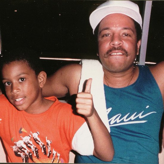 Ludacris honored his late father with this photo from when he was a little one. Source: Instagram user itsludacris
