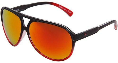 Von Zipper - Modern Amusement - Ragtop (Black-Red/Chrome) - Eyewear