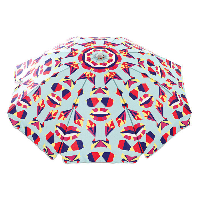 Basil Bangs's Balmy Origami umbrella ($239) boasts such a fun graphic pattern — perfect for Summer.