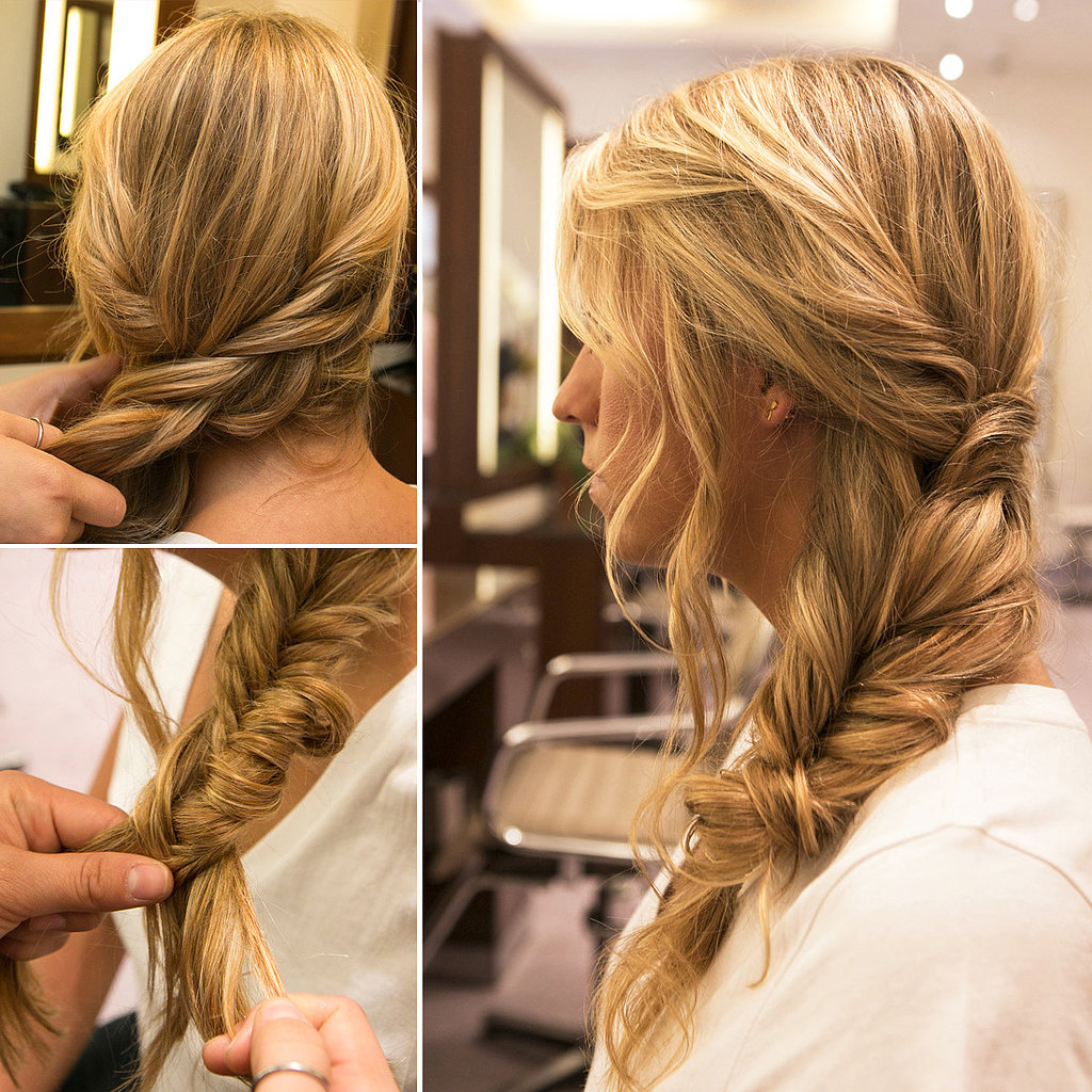 The Effortlessly Chic Side Braid Perfect For Post-Vacation Hair