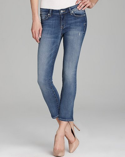 Genetic Denim Jeans - Liam Crop in Blue Haze