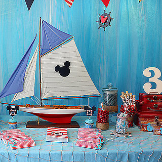 Nautical Mickey Mouse Birthday Party