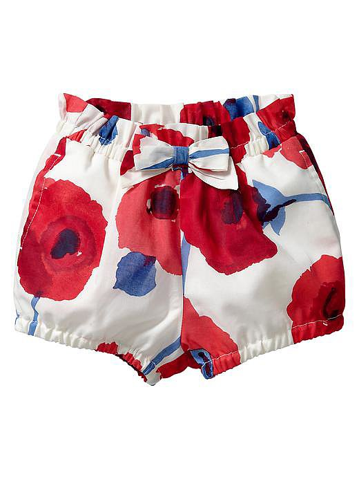 Gap Poppy-Print Shorts