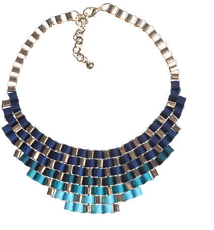 WINK AND FLIP Carrie Necklace Blue