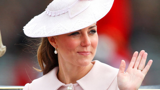 Video: Kate Middleton Shines in Pink at Final Official Appearance Before Baby!
