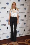 Gwyneth Paltrow tapped into the black-and-white trend for the Licensing Expo in Las Vegas on Tuesday.