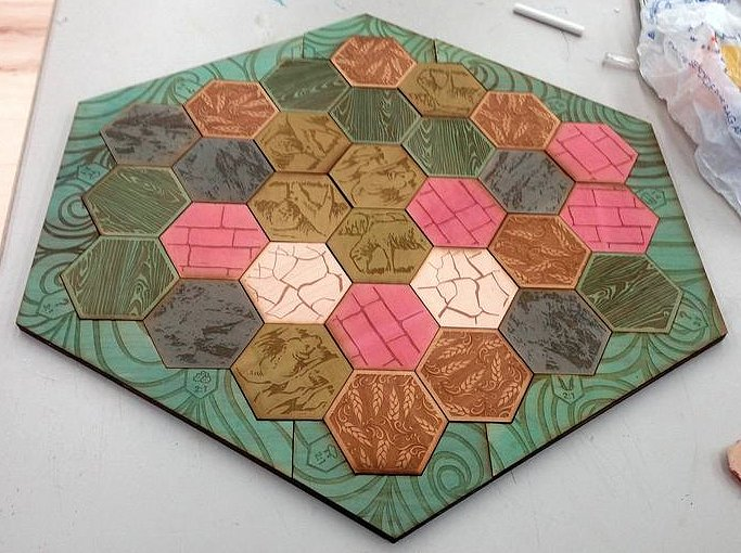 To Craft Into a Board Game
