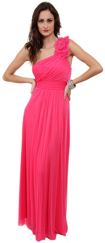 Im-11295, Bloosom Flowered Long Formal Dress-Satin-Boutique.com