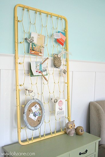 Shabby-Chic Bulletin Board