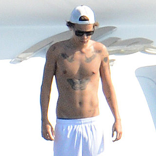 Harry Styles Shirtless in His Underwear in Miami