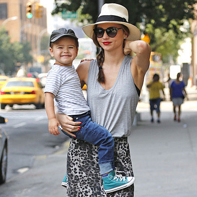 Miranda Kerr and Flynn Bloom Outing in NYC