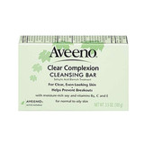 Aveeno Clear Complexion Cleansing Bar ($4) is a great option for those who prefer bar soaps over other cleansers.