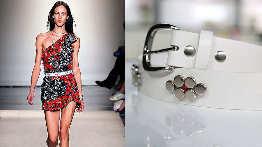 Make Your Own Cool-Girl Studded Belt Inspired by Isabel Marant