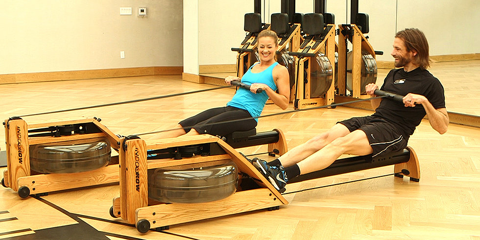 Get a Full-Body Burn With the Row Machine