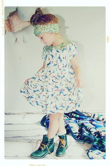 Blue Yonder Dress