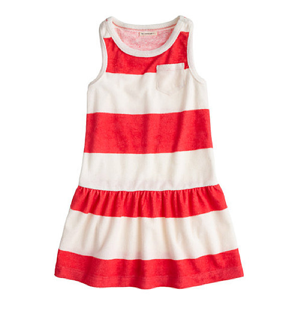 J.Crew Striped Terry Dress