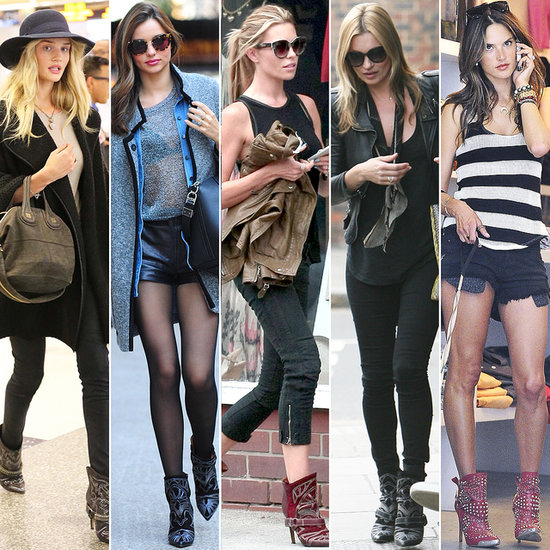 Models Love Their Isabel Marant Blackson Boots!