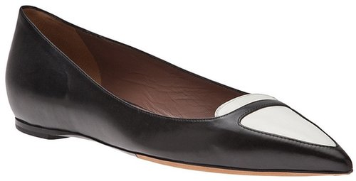 Tabitha Simmons Two tone loafer