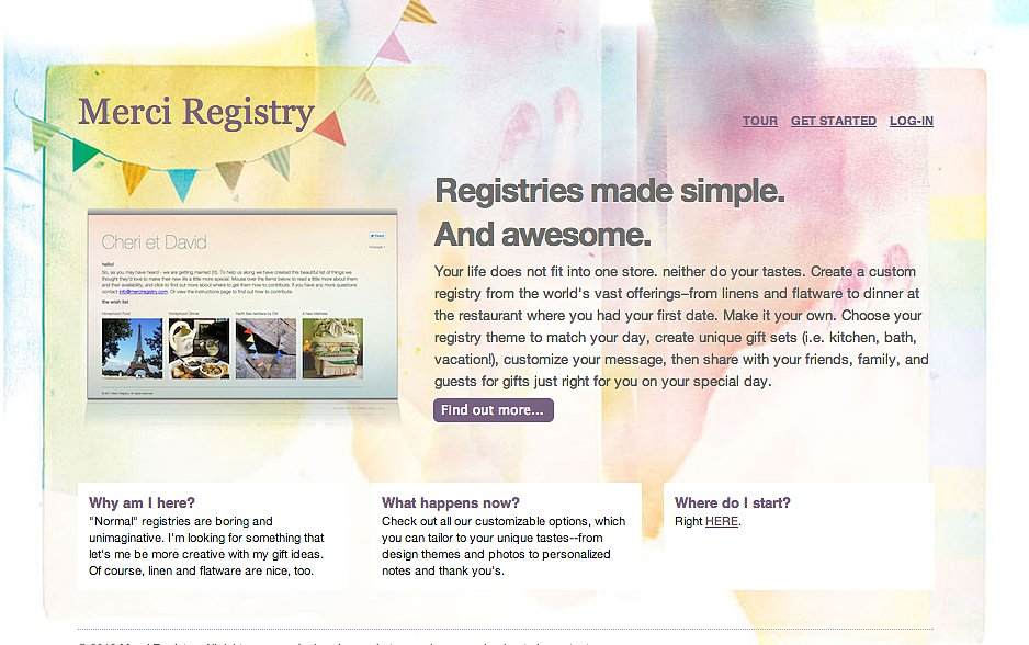 Merci Registry