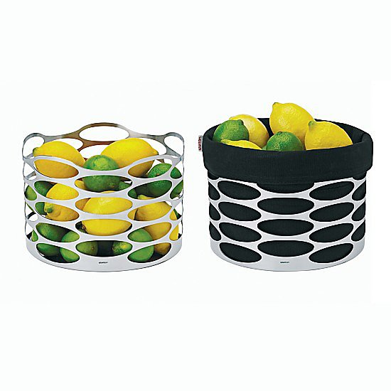 Add a fun element to fruit with this cutout silver bowl ($99).