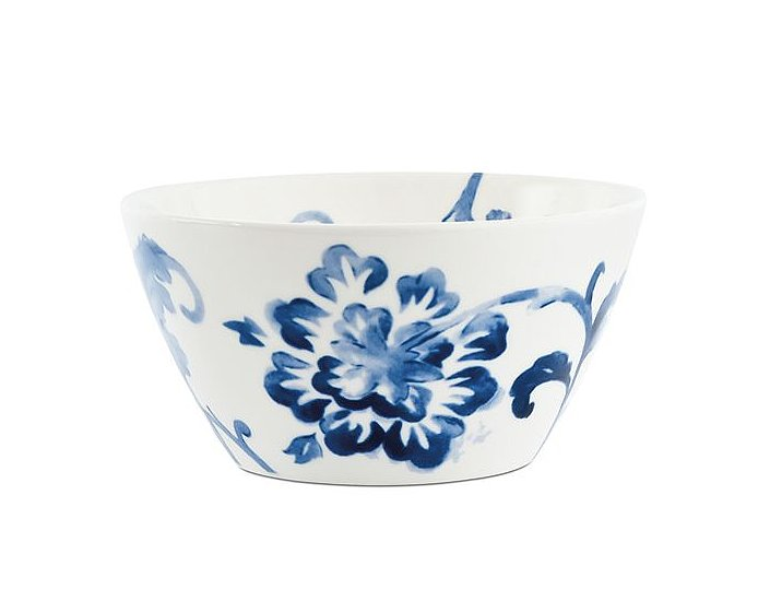 The delicate style of this floral fruit bowl ($16) gives way to a sturdy shape that'll hold the season's best produce.