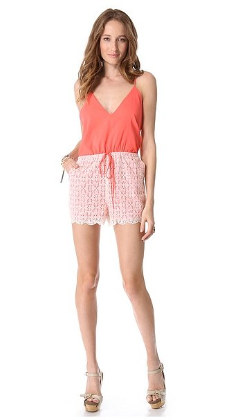 This 6 Shore Road lace romper ($115) is simply too adorable to pass up. Plus, the price tag is pretty too.