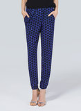 Denim is divine, but requires so little thought when dressing. Push your style boundaries by reaching for a different blue pair instead, like this Babaton trouser ($115, originally $145) done in polka-dot silk.
